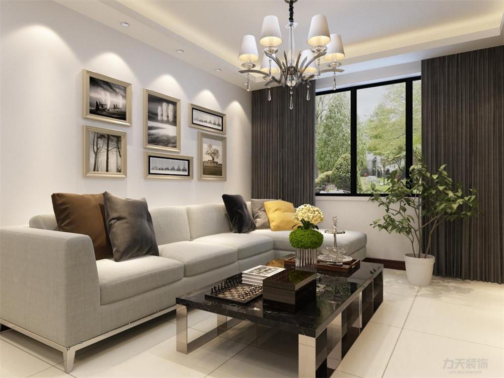 二居 现代 象博豪庭 客厅图片来自阳光放扉er在力天装饰-象博豪庭 90㎡的分享