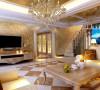 设计理念:设计灵感来源法兰西华丽浪漫感,大面积复合石材的运用展示,只为营造大气又不失奢华的氛围。