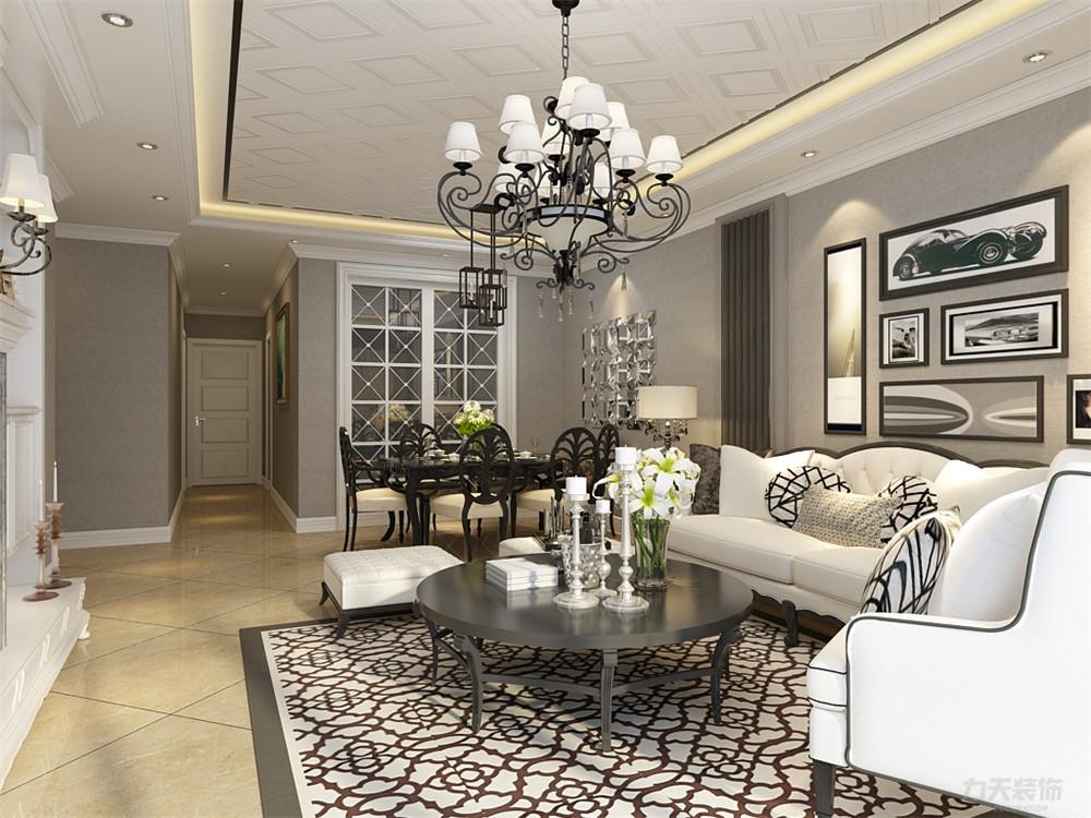 三居 欧式 白领 收纳 80后 小资 客厅图片来自阳光力天装饰在力天装饰-夏洛兹花园124.31㎡的分享