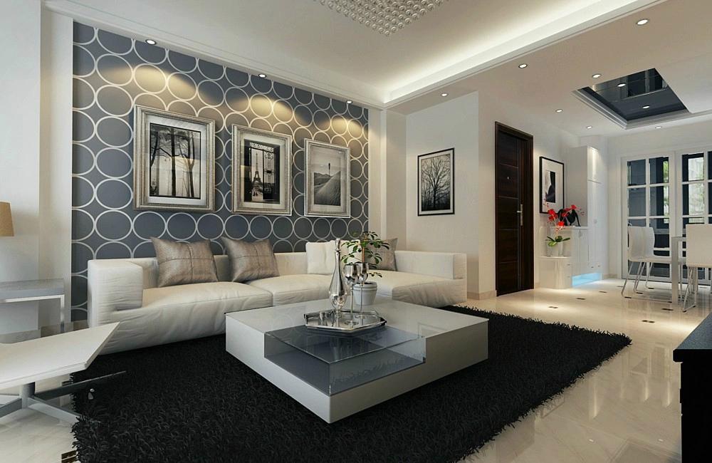 现代 三居 loft 客厅图片来自今朝装饰张智慧在现代风格西山国际城的分享
