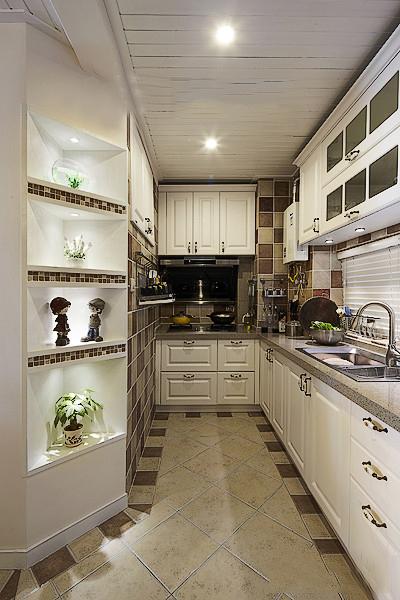 田园 白领 收纳 二居 简约 厨房图片来自武汉苹果装饰在猫舍—田园舒雅的分享