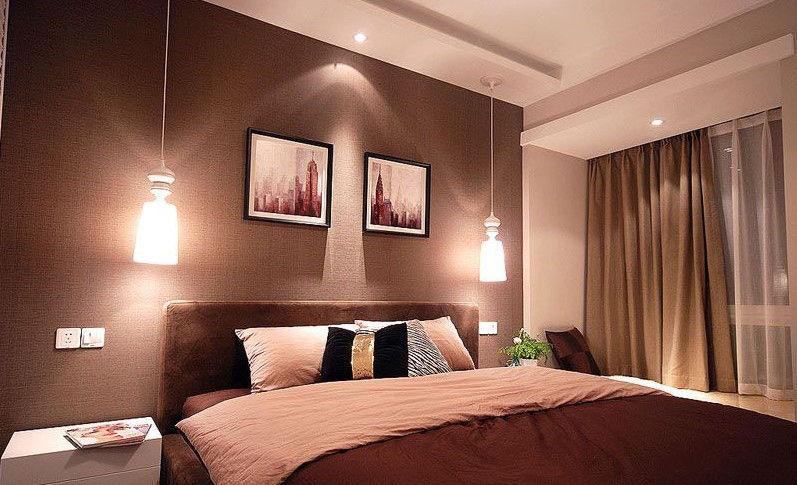 卧室图片来自今朝装饰张智慧在89平黑白灰时尚三居室的分享