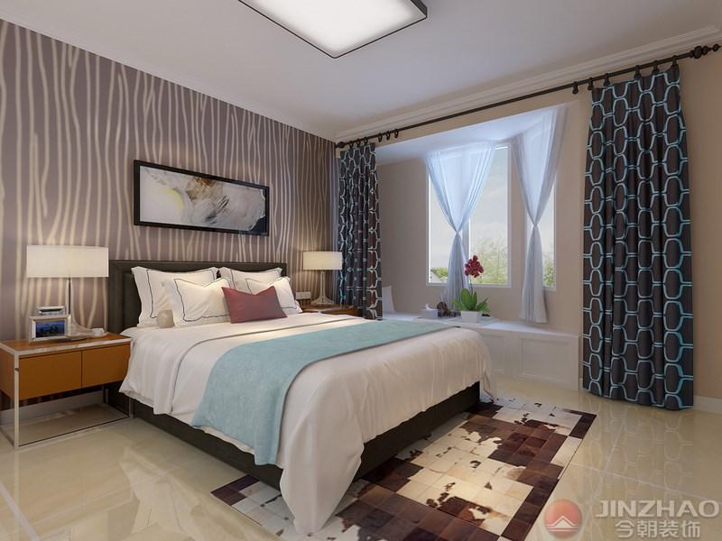 卧室图片来自装家美在榆次新晋世家158平米现代简约的分享