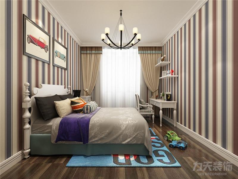 简约 二居 白领 收纳 80后 小资 旧房改造 卧室图片来自阳光力天装饰在力天装饰-华云园95㎡的分享