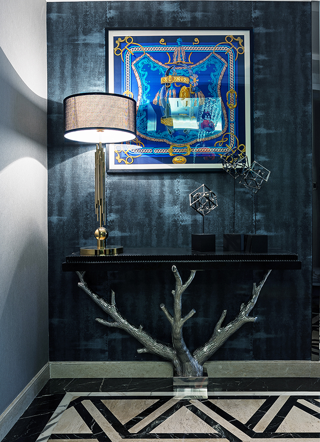 现代 摩登 都市图片来自Studio.Y余颢凌设计工作室在誉峰·时尚摩登都市生活的分享