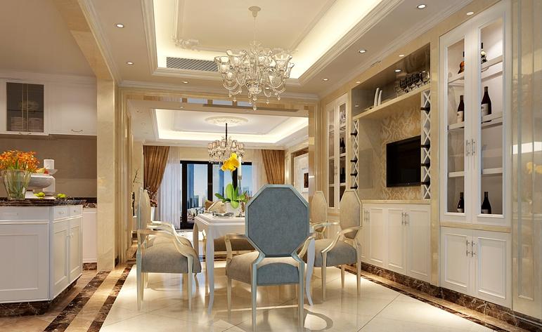 欧式 小资 大气 高贵 餐厅图片来自居众装饰佛山分公司在居众装饰-依云曦城的分享