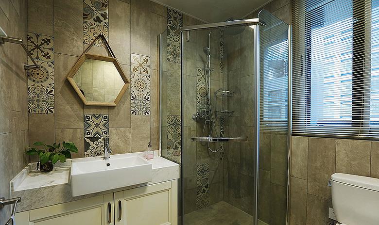 卫生间图片来自家装大管家在明快简洁 170平现代淡雅舒适3居的分享