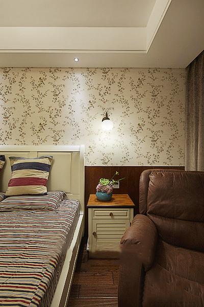 田园 白领 收纳 二居 简约 卧室图片来自武汉苹果装饰在猫舍—田园舒雅的分享