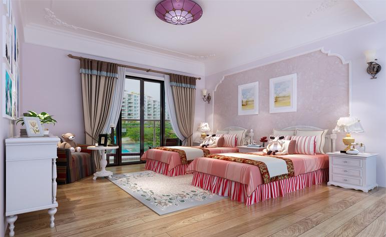 浪漫 高雅 儿童房图片来自居众装饰佛山分公司在居众装饰-保利紫山的分享
