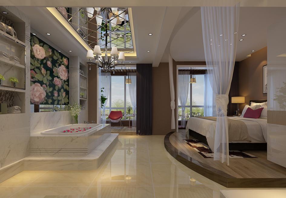 卧室图片来自装家美在万达小区-现代简约的分享