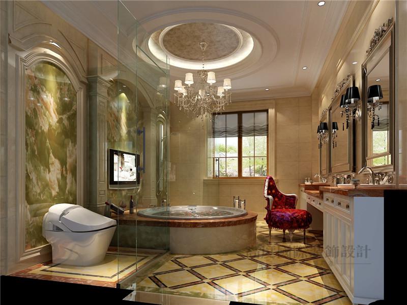 欧式 别墅 蓝岸丽舍 新古典 客厅 卫生间图片来自沙漠雪雨在603平米优雅大气欧式新古典别墅的分享