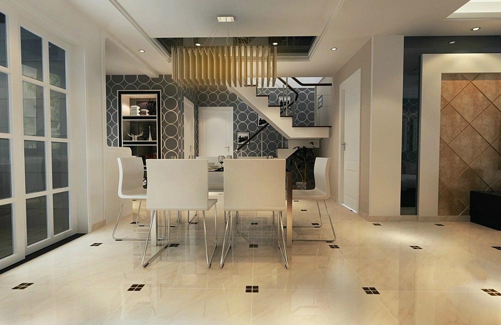 现代 三居 loft 餐厅图片来自今朝装饰张智慧在现代风格西山国际城的分享