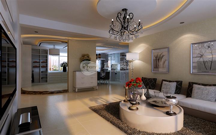 客厅图片来自沈阳宜家装饰在中海寰宇天下现代风格的分享