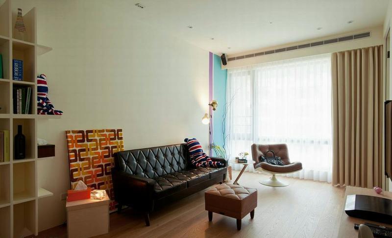 客厅图片来自今朝装饰张智慧在黑板漆搭配草绿色墙漆打造照片墙的分享