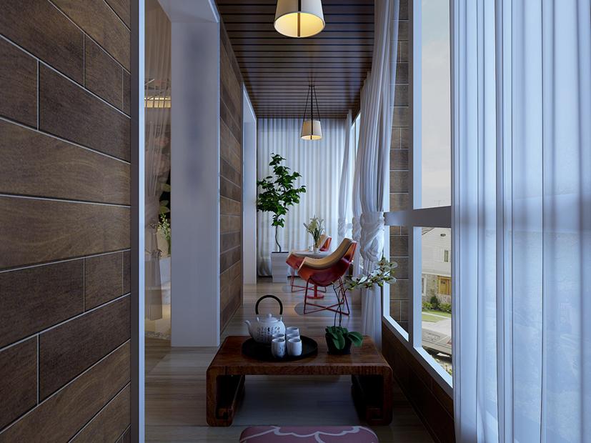 阳台图片来自装家美在万达小区-现代简约的分享