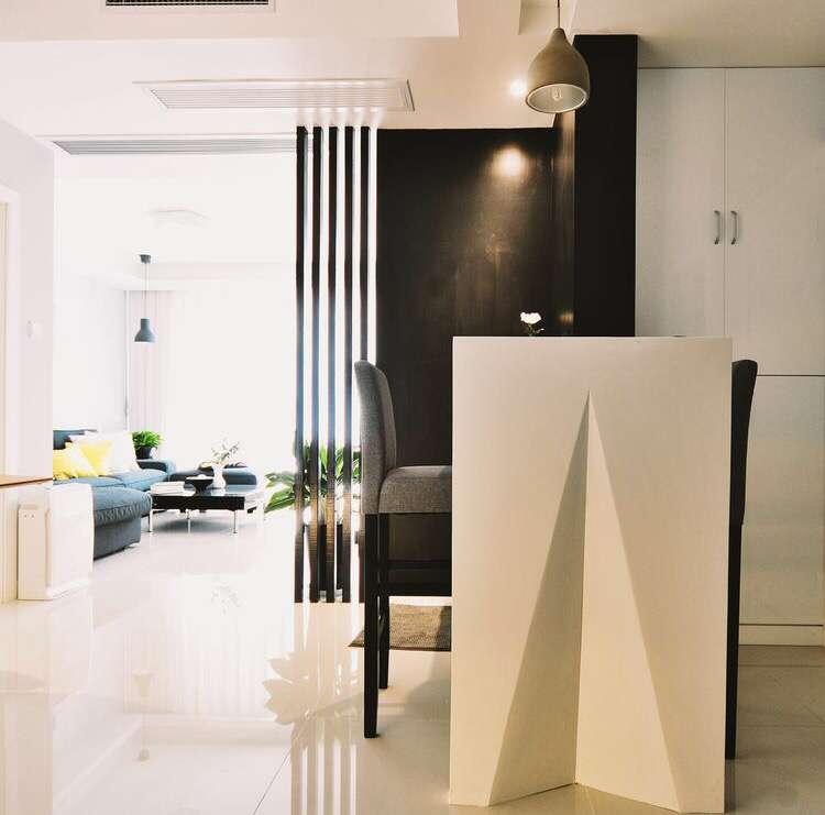 简约 二居 客厅图片来自装修早知道-在麦田的光芒-现代简约的分享