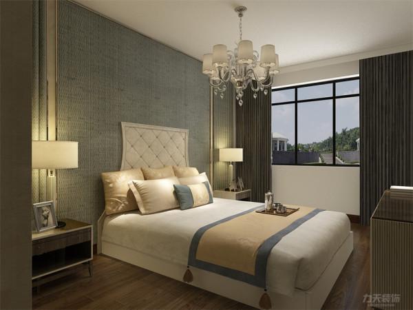 卧室也采用和客厅、餐厅一样简单的色系床,使整个设计更加协调。卫生间的色调明亮,设计简约大方。