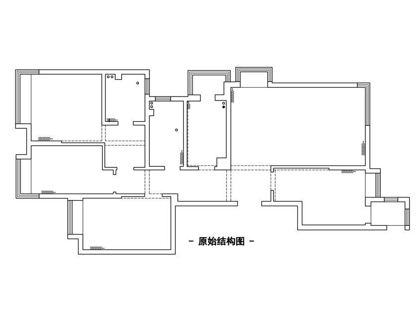 三居 新中式 青岛实创装 晓港名城 户型图图片来自快乐彩在晓港名城风雅新中式三居室的分享