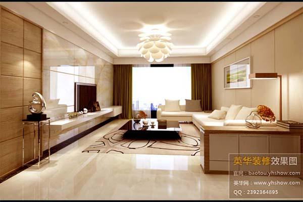 简约 客厅 三居 80后 小资 白领 收纳图片来自英华装修在装修案例的分享