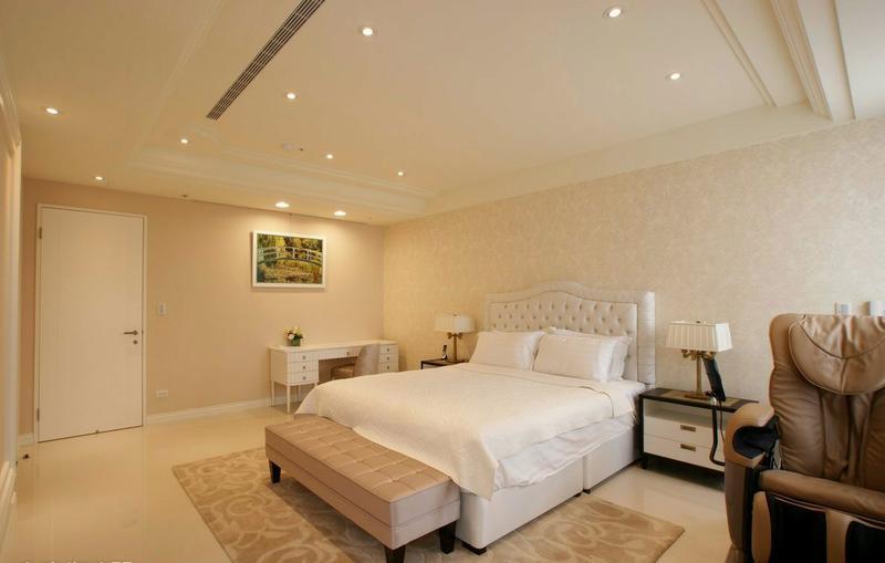 卧室图片来自今朝装饰张智慧在微现代轻古典的分享