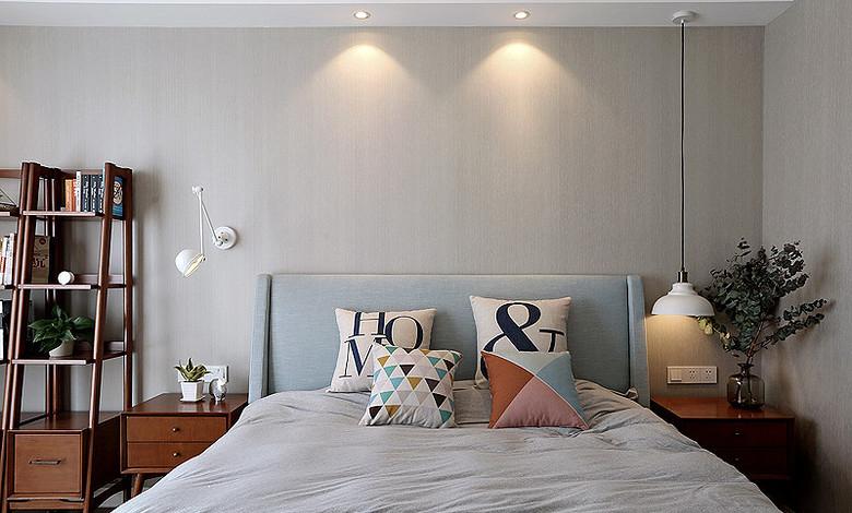 卧室图片来自家装大管家在明快简洁 170平现代淡雅舒适3居的分享