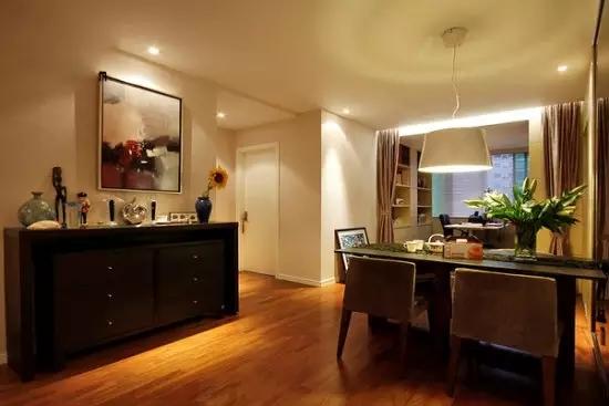 二居 简约 旧房改造 收纳 现代 客厅 卧室 厨房 餐厅 餐厅图片来自实创装饰晶晶在简单才是真治愈,95㎡简约两居的分享
