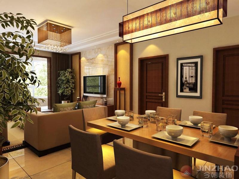 餐厅图片来自装家美在文湃苑144平米-中式风格的分享