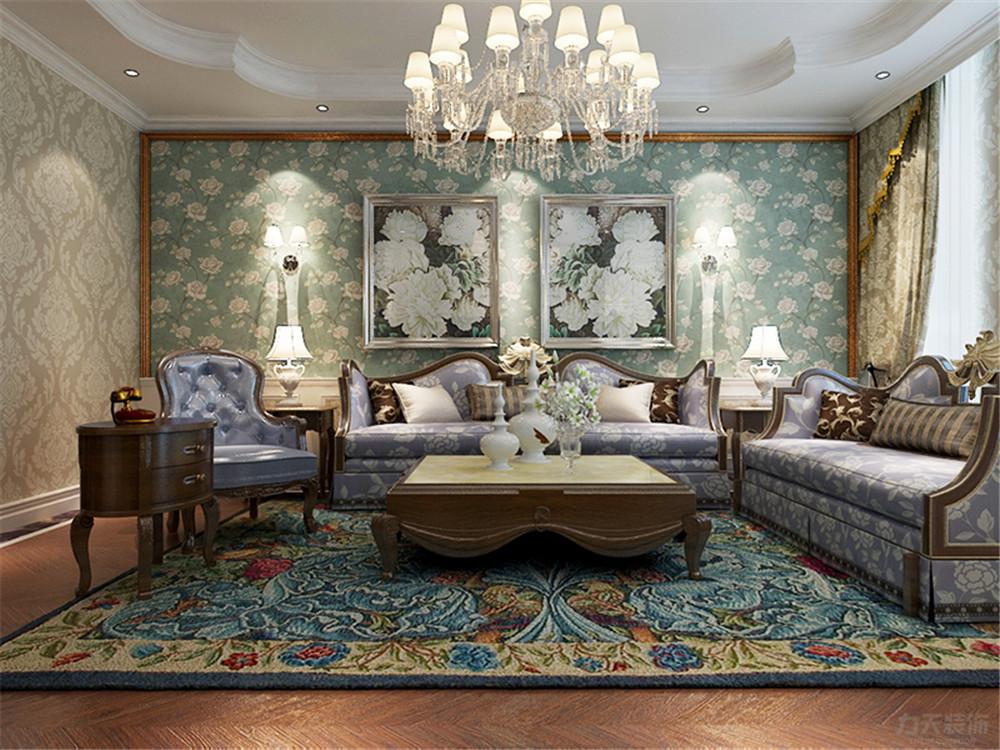 三居 简欧 华远波士顿 客厅图片来自阳光放扉er在力天装饰-华远波士顿 139㎡的分享