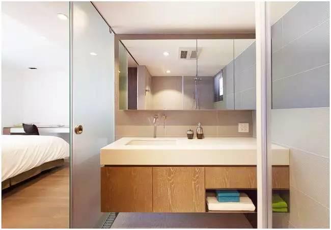 简约 三居 日式 客厅 卧室 收纳 背景墙 卫生间 餐厅 卫生间图片来自实创装饰晶晶在治愈系的日式风,靠软装飙升气质的分享