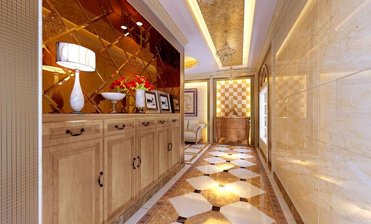 """欧式 巢NEST别墅 别墅装修 最美效果图 厨房图片来自武汉实创装饰张娟在品位生活""""极致之美""""的分享"""