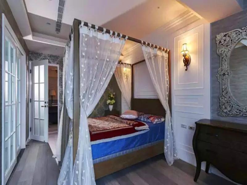混搭 三居 白领 收纳 旧房改造 小资 客厅 卧室图片来自沙漠雪雨在136平米惊艳薰衣草浪漫城堡的分享