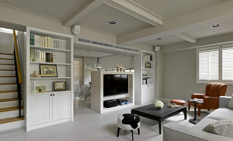 现代 简约 loft 80后 客厅图片来自今朝装饰张智慧在空间界定空间 西三旗loft的分享