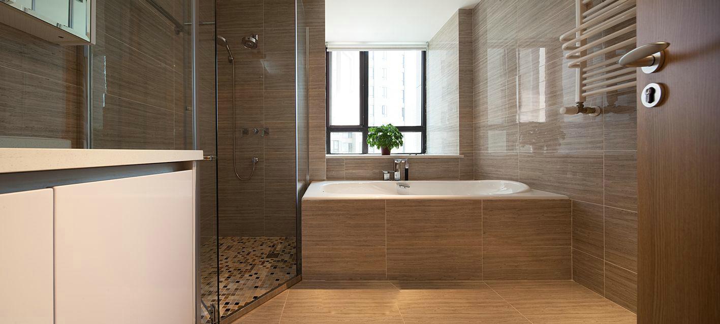 简约 三居 卫生间图片来自美家堂装饰小刘在木质现代简约风格爱家欣赏的分享
