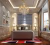 二层卧室家具的整个轮廓和各个转折部分多由对称的、富有节奏感的螺旋形曲线或曲面构成,力求在线条、比例设计上充分展现丰富的艺术气息。