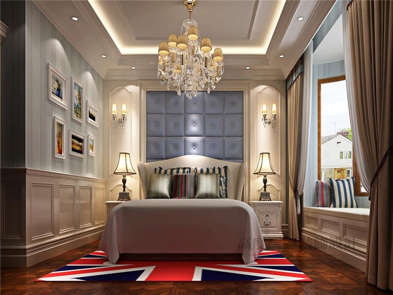 欧式 别墅 蓝岸丽舍 新古典 客厅 卧室图片来自沙漠雪雨在603平米优雅大气欧式新古典别墅的分享