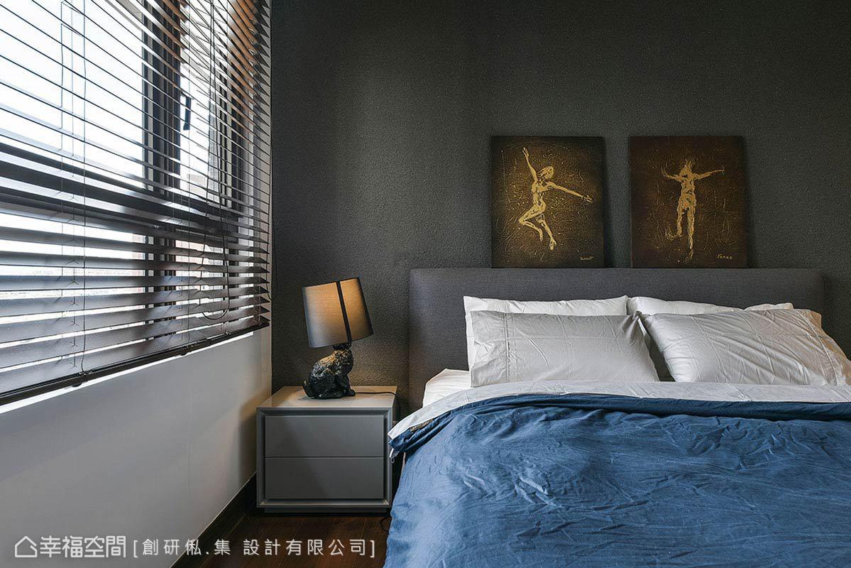 二居 现代 简约 收纳 卧室图片来自幸福空间在99平现代风格冠德鼎峰的分享