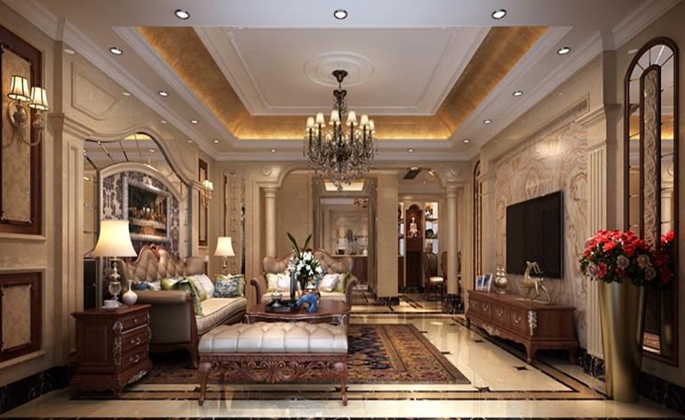 欧式 华丽 客厅图片来自居众装饰佛山分公司在居众装饰-保利花园的分享