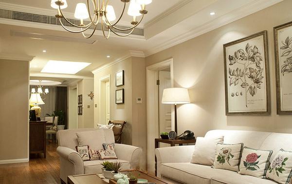 简约 田园 美式 四居 客厅图片来自北京大成日盛装饰设计在美式 四居 大成日盛案例欣赏的分享