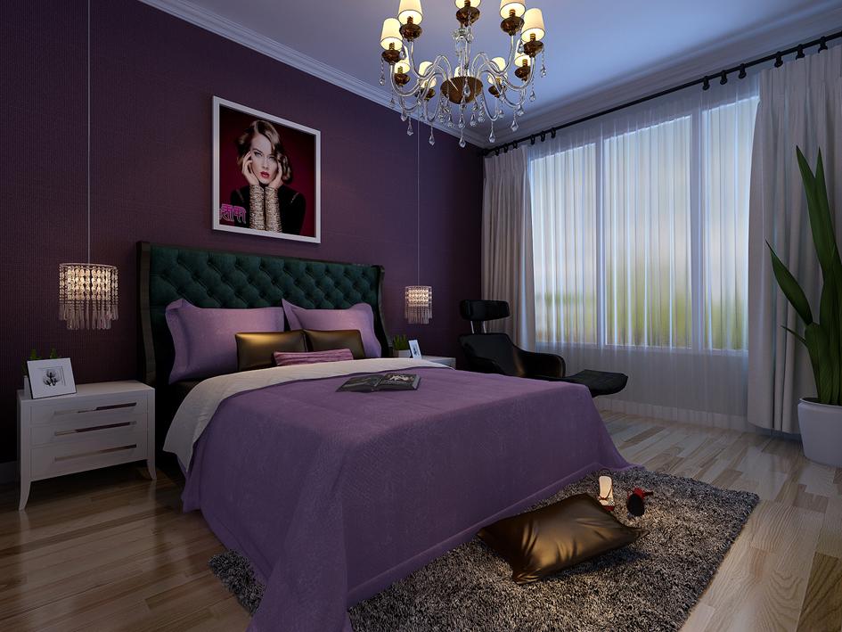 卧室图片来自装家美在府东公馆-现代简约的分享