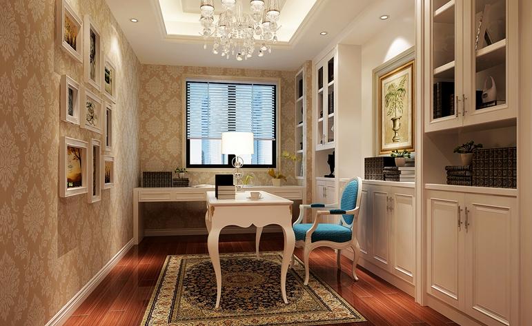 欧式 小资 大气 高贵 书房图片来自居众装饰佛山分公司在居众装饰-依云曦城的分享