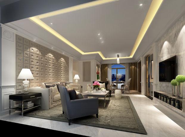 简约 白领 别墅图片来自广州市嘉华设计工程有限公司在大气简约现代住宅的分享