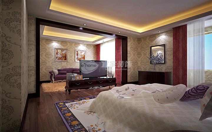 卧室图片来自沈阳宜家装饰在远洋岦宫混搭风格的分享