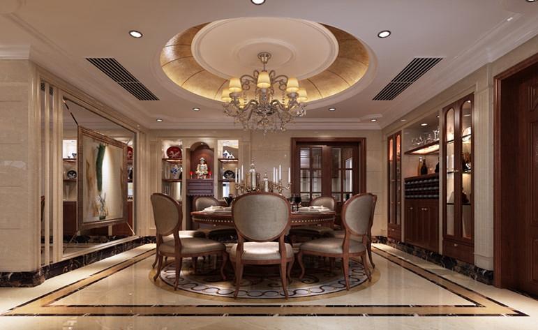 欧式 华丽 餐厅图片来自居众装饰佛山分公司在居众装饰-保利花园的分享