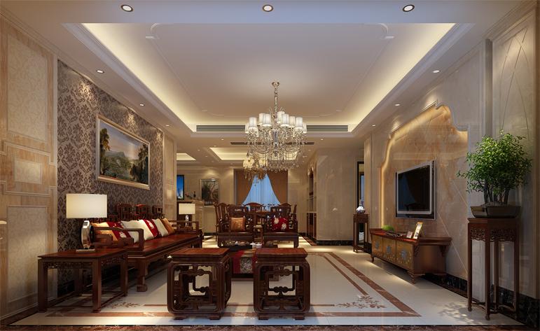 高贵 典雅 客厅图片来自居众装饰佛山分公司在居众装饰-中海千灯湖一号的分享