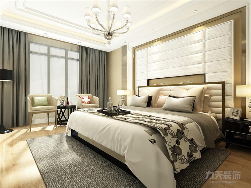 简约 三居 白领 收纳 80后 小资 卧室图片来自阳光力天装饰在力天装饰-中浩智城110㎡的分享