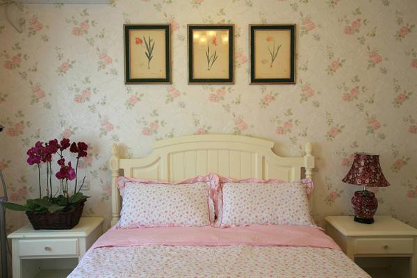 乡村 田园 二居 卧室图片来自北京大成日盛装饰设计在乡村 二居 刘工长案例欣赏的分享