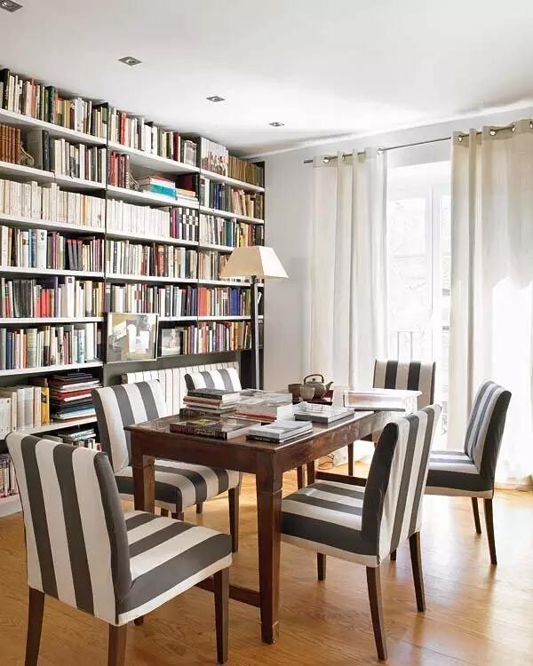 书房图片来自家焕然一馨在80㎡优雅两居超别致的中西混搭风的分享