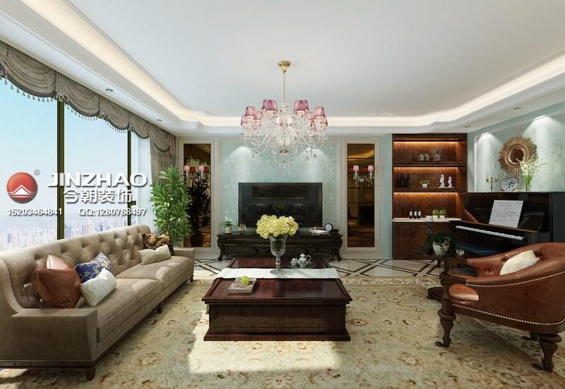 欧式 客厅图片来自152xxxx4841在国信嘉园210平的分享