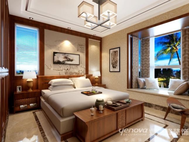 三居 太原业之峰 环保家装 卧室图片来自太原业之峰诺华装饰杨丽茹在中式书香的分享