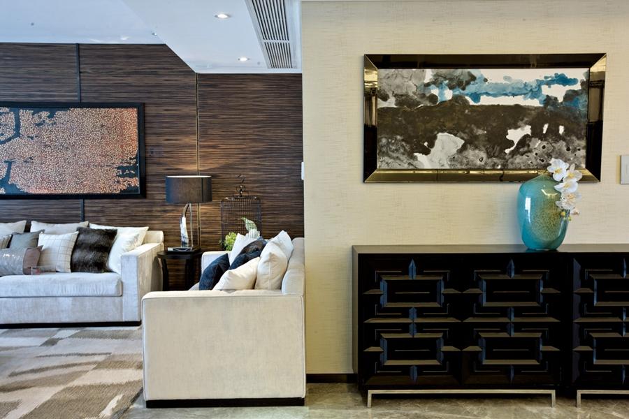 混搭 三居 九龙仓御园 白领 80后 客厅图片来自朗润装饰工程有限公司在九龙仓御园混搭美家的分享